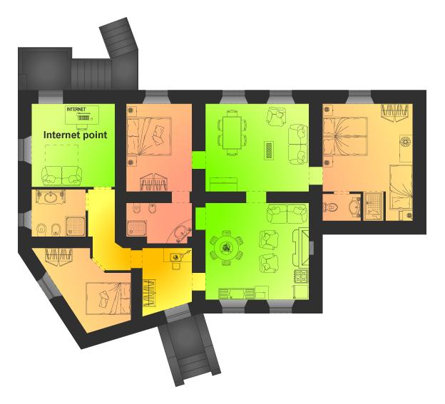 Agriturismo umbria perugia citt di castello for Creatore della mappa della casa